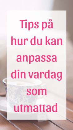 Att anpassa vardagen är A och O för att återhämta sig från enl… To adapt everyday life is A and O to recover from according to chief physician Anders Hansen. Here you will find tips on how to do this. Herbal Remedies, Good To Know, Feel Good, United Health Insurance, Bra Hacks, Stress Less, Eating Organic, Stressed Out, Acupuncture