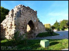 Puerta de Santa María de la Cabeza, siglo XIV, Almonacid de Zorita, Guadalajara - España  www.portalguada.com  PortalGuada Guadalajara