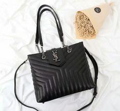 YSL Black Handbag Messenger Bag 502717 (114usd) Size:30*27*11cm Whatsapp:+8613418595267 or +8618620002097 Email:2091851576@qq.com wechat:18620002097 Yves Saint Laurent Bags, Designer Bags, Black Handbags, Ysl, Messenger Bag, Fashion, How To Make, Couture Bags, Black Purses