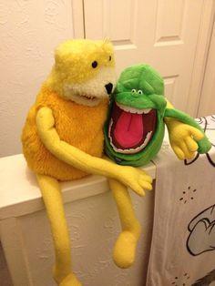 Lads night in Puppets, Dinosaur Stuffed Animal, Flat, Night, Toys, Animals, Activity Toys, Bass, Animales