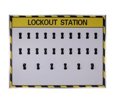 20 lock lockout station only