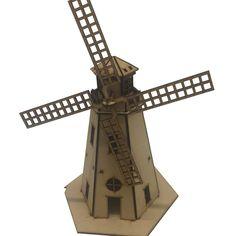 Dutch windmill LASERCUT Files Cnc Router, Plasma Cnc, Dutch Windmill, Laser Cut Files, Laser Cutting, Etsy, Town House, Cricut Explore, Windmills