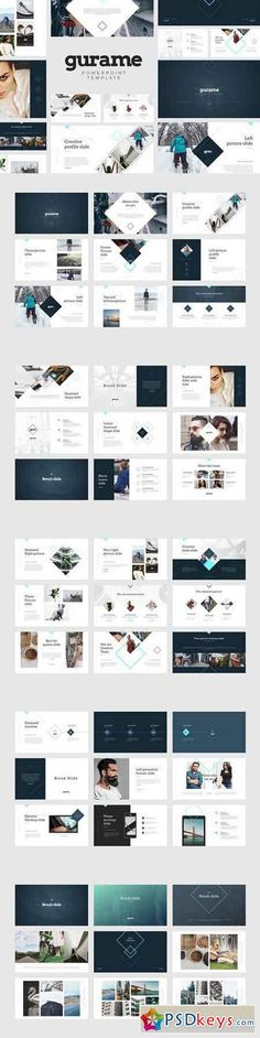 Gurame PowerPoint Template 790494