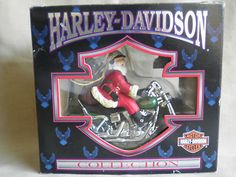 HARLEY - DAVIDSON CHRISTMAS ORNAMENT 1998