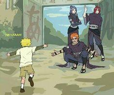 Naruto Uzumaki Shippuden, Naruto Kakashi, Anime Naruto, Naruto Shippuden Characters, Naruto Comic, Wallpaper Naruto Shippuden, Naruto Cute, Sasunaru, Otaku Anime