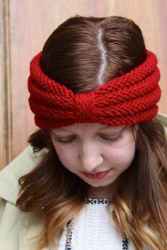 The Purl Turban Headband | Craftsy