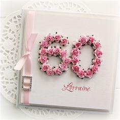 60th Birthday Cards For Ladies, 50th Birthday Quotes, 60 Birthday Card, Grandpa Birthday, Birthday Crafts, 80th Birthday, Homemade Birthday Cards, Homemade Cards, Big Shot