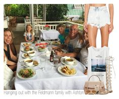 """""""Hanging out with the Feldmann family with Ashton"""" by sixsensestyles ❤ liked on Polyvore featuring UNIF, Uniqlo, MICHAEL Michael Kors, Casetify, Stuart Weitzman and Ray-Ban"""