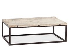 One Kings Lane - Neutral Territory - Eleanor Coffee Table