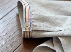 Skinny simple striped cuff