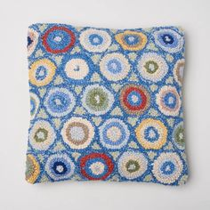 Amity Home Coin Hooked Wool Throw Pillow & Reviews | Perigold