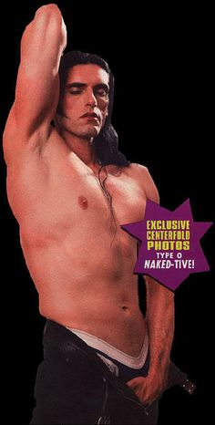 Peter Steele of Type O-Negative for Playgirl