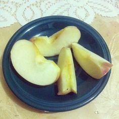 Nyemil yukkk #apple