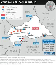 This @UN Refugee infographic shows where 75,000 people fleeing #CARcrisis are going. pic.twitter.com/Zrgz0lfXu1 via UN