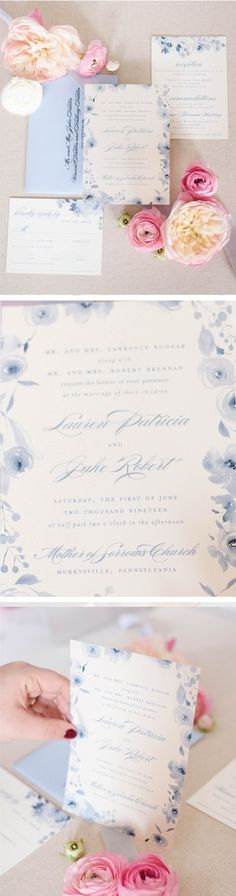 These modern wedding invitations are everything you need to share the   joy of your big  day and get guests excited for your wedding day.   #weddingideas   #weddinginvitations #weddinginvites #romanticweddings   #springwedding Letterpress Wedding Invitations, Beautiful Wedding Invitations, Wedding Invitation Cards, Invites, Dusty Blue Weddings, Boho Wedding Decorations, Wedding Preparation, Romantic Weddings, Palette