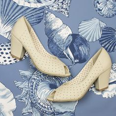 The Halina Heels from B.A.I.T. Footwear are a fabulous neutral option for prints!