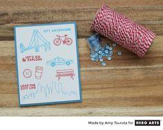 Tsuruta Designs: Hero Arts: Summer Catalog Sneak Peeks - City Adventure