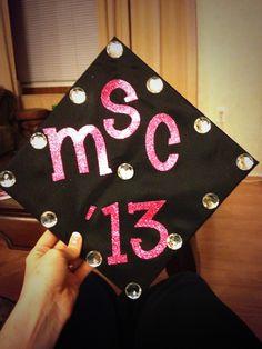 My graduation cap design