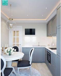 Kitchen ideas white classic interior design 29 Ideas for 2019 Kitchen Decor, Home Decor Kitchen, New Kitchen, House Interior, Small Kitchen, Home Kitchens, Kitchen Design, Kitchen Remodel, Home Decor