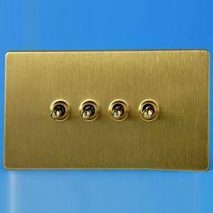 1 gang 2 way screwless plaque chrome poli unique moderne interrupteur de lumière 10A