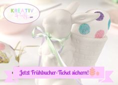 """Der frühe Hase schnappt das schönste Ei – Frühbucher-Ticket für Kreativ-Party """"Frohe Ostern"""""""