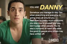 I took Zimbio's 'Teen Wolf' quiz and I'm Danny! Who are you? #ZimbioQuiznull - Quiz