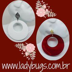 Argolas de acrílico super leves! Maxi Brinco Argola - Branco ou Vermelho por R$ 29,90 cada😉 Mais opções no site 👉www.ladybugs.com.br🐞 ou segue o link na bio  #acessóriosfemininos #acessóriosmasculinos #acessorios #bijuteria #bijuterias #bijoux #visitenossaloja #bijuteriaonline #novidades #trendalert #moda #tendencia #lojavirtual #lojaonline #look #instamoda #caraguatatuba #jundiai #brasil #brinco #maxibrinco #acrílico #brincodeacrílico #argola #brincoderesina