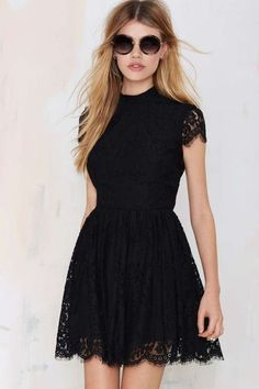 Little Black Dresses Homecoming Dress Sexy Open Back Lace Short Prom Dress Party Dress Black Prom Dresses, Grad Dresses, Pretty Dresses, Homecoming Dresses, Sexy Dresses, Beautiful Dresses, Short Dresses, Fashion Dresses, Black Lace Shorts