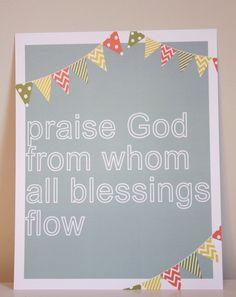 Praise.