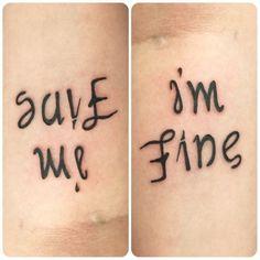 Save me - I'm fine