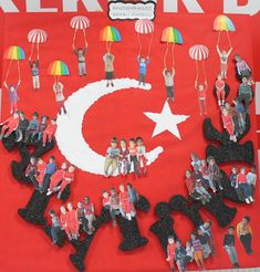 10 kasım Atatürk'ü Anma Art For Kids, Crafts For Kids, Turkey Holidays, National Holidays, Collaborative Art, Paper Gifts, Art Activities, Art Education, Special Day