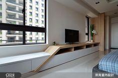 北歐風的裝潢圖片為築青室內裝修有限公司的設計作品,該設計案例是一間預售屋總坪數為45,格局為四房,更多築青室內裝修有限公司設計案例作品都在設計家 Searchome