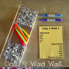 Firstie Favorites: Daily 5: The key to an interactive Word Work Round