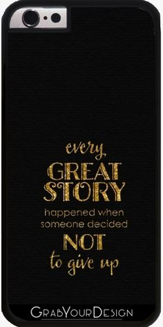 Case for Iphone 6/6S - Every great story - by UtArt