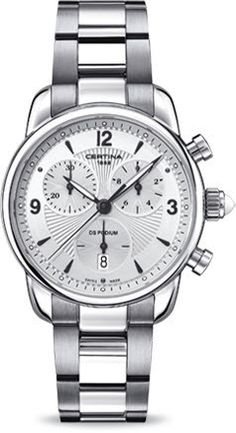 Certina Watch DS Podium Lady Chrono Quartz #bezel-fixed #bracelet-strap-steel #brand-certina #case-material-steel #case-width-34-5mm #chronograph-yes #classic #date-yes #delivery-timescale-7-10-days #dial-colour-silver #gender-ladies #movement-quartz-battery #official-stockist-for-certina-watches #packaging-certina-watch-packaging #style-dress #subcat-ds-podium #supplier-model-no-c025-217-11-017-00 #warranty-certina-official-2-year-guarantee #water-resistant-100m