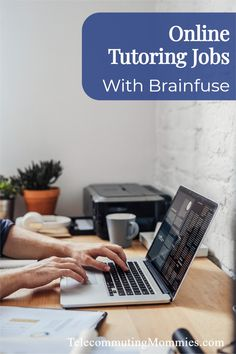 Work from home with Brainfuse. ONline jobs as a tutor. Earn Money From Home, Way To Make Money, Make Money Online, Home Tutors, Need A Job, Legitimate Work From Home, Flexible Working, Online Tutoring, Work From Home Moms