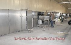 Ice Cream Cone Machine Line Factory Please contact with email lisa@machinehall.com to know this type ice cream cone machine line details and price. Whatsapp is 008618595717505