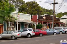 Stops Along the Maui Volcano Tour: Makawao Town