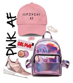 """PINK AF"" by bee-bee-bey on Polyvore featuring NOVICA, SoapRocks and Kendall + Kylie"