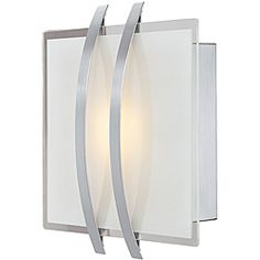 @Overstock - Illuminate your home or office in style with this Metro lighting fixture. This sconce features a brushed steel finish with an opal glass shade.http://www.overstock.com/Home-Garden/Metro-Brushed-Steel-Finish-with-Opal-Glass-Wall-Sconce/6545680/product.html?CID=214117 $52.99