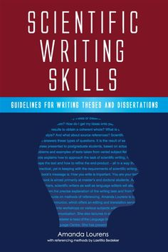 It is the result of many courses in scientific writing skills to postgraduate students based on real writing problems and text examples from diverse disciplines. It is a practical yet scientifically sound guide that helps the student tackle scientific writing. Scientific Writing, Academic Writing, Writing Problems, Writing Styles, How Do I Get, Thesis, It Works, Thats Not My, Students