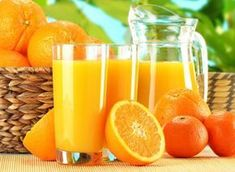 Delicious & Easy Recipes Made With Fresh Orange Juice. Who doesn't love freshly squeezed orange juice from this ripe, fragrant citrus fruit? Potassium Rich Foods, Acidic Foods, Orange Juice, Orange Peel, Healthy Drinks, Healthy Recipes, Healthy Foods, Healthy Liver, Flu