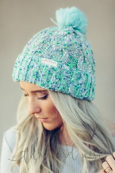 Windsor Pom-Pom Beanie by Three Bird Nest | Bohemian Clothing