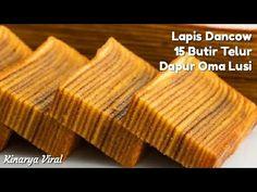 Lapis Dancaw 15 Butir Telur Dapur Oma Lusi - YouTube Lapis Legit, Layers, Food And Drink, Cake, Youtube, Desserts, Layering, Tailgate Desserts, Deserts