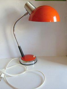 LAMPE ORIGINAL 70er SCHREIBTISCHLAMPE von susduett  auf DaWanda.com