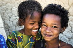 Among African children in their own land. Beautiful beyond words...