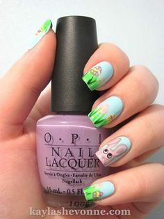 Amazing Easter Nail Art Designs Ideas 2014 6 Amazing Easter Nail Art Designs & Ideas 2014