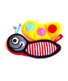 Multi Coloured Butterfly Toy by Beeetu on #zulilyUK today!