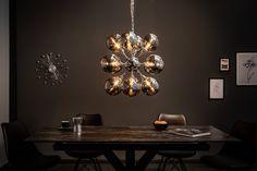 GALAXY ezüst függőlámpa 72cm #lakberendezes #otthon #otthondekor #szőnyeg #homedecor #furnishings #design #ideas #furnishingideas #housedesign #livingroomideas #livingroomdecorations #decor #decoration #decorationhomedecor #lamp #lampdesign #lampdecoration Futuristisches Design, Design Ideas, Luster, Chandelier, Ceiling Lights, Lighting, Home Decor, Products, Environment