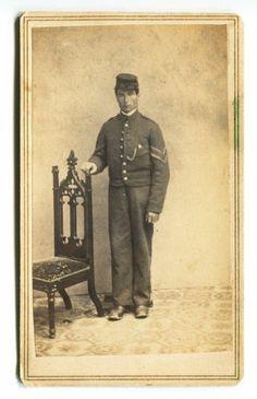 Civil War Soldier Albion New York CDV   eBay